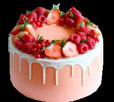 New! Торт Ягодный веночек