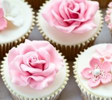 """CUP-CAKE Свадебный набор """"Розовая нежность"""""""