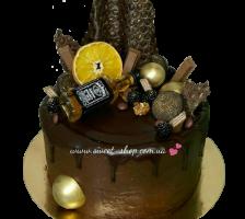 Торт Шоколадный виски