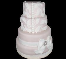 свадебный торт в 4 яруса