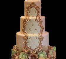 свадебный торт в стиле барокко