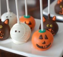 "Cake Pops ""Хеллоуин"""