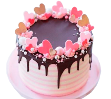 """Торт """"День влюбленных"""" №2"""