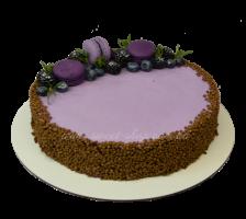 Торт Мусс из черной смородины