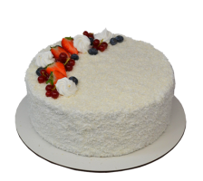 Торт Кокосово-малиновый торт