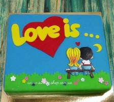 """Торт """"LOVE IS...."""""""