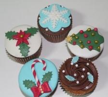 """Набор кап-кейков """"Новогоднее настроение"""""""