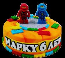 """Торт за час """"Лего Ниндзяго"""" 1"""