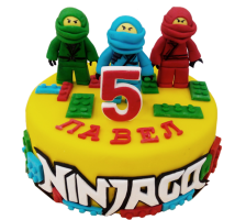 """Торт за час """"Лего Ниндзяго"""" 3"""