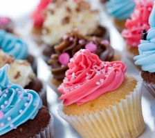 CUP-CAKE без глютена или лактозы