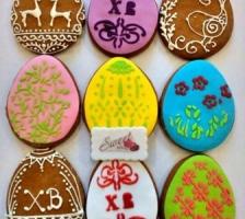 Печенья Пасхальные яйца