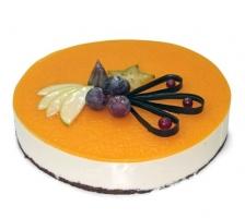Торт Творожно - персиковый